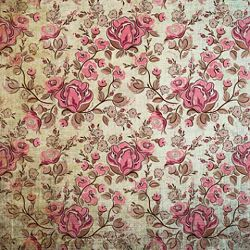 Click Props Background Vinyl with Print Roses Distressed 1,52x1,52m studijska foto pozadina s grafikom