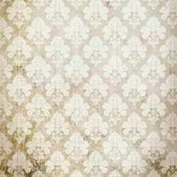 Click Props Background Vinyl with Print Damask Distressed White 1,52x1,52m studijska foto pozadina s grafikom