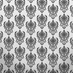 Click Props Background Vinyl with Print Damask2 W Black 1,52x1,52m studijska foto pozadina s grafikom