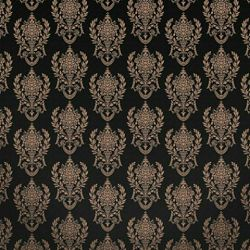 Click Props Background Vinyl with Print Damask2 B Gold 1,52x1,52m studijska foto pozadina s grafikom