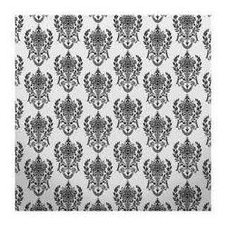 Click Props Background Vinyl with Print Damask2 W Black 1.52x2.44m studijska foto pozadina s grafikom