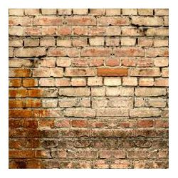 Click Props Background Vinyl with Print Old Rural Brick Wall 1.52x2.44m studijska foto pozadina s grafikom