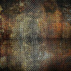 Click Props Background Vinyl with Print metal Rust 1.52x2.44m studijska foto pozadina s grafikom