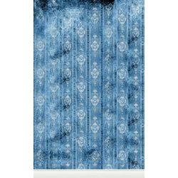 Click Props Background Vinyl with Print Distressed Wallpaper Blue 1.52x2.44m studijska foto pozadina s grafikom