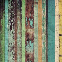Click Props Background Vinyl with Print Coloured Plank 1.52x2.44m studijska foto pozadina s grafikom