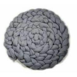 Click Props Newborn Mohair Wool Nest Grey MWNG 300x6cm foto pribor za fotografiju beba