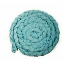 Click Props Newborn Mohair Wool Nest Teal MWNT 300x6cm foto pribor za fotografiju beba