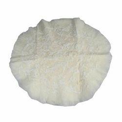 Click Props Newborn Round Undergarment Merino Wool Floral White 60cm foto pribor za fotografiju beba