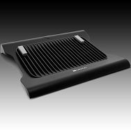 Cooling Stand CANYON CNR-NS8 ( 2 x 66mm, 1600 RPM, Black/Silver), Retail