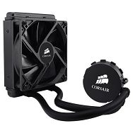 Corsair Hydro Series H55, Intel™ LGA 1150, 1155, 1156, 1366, and 2011 + AMD sockets AM2, AM3 and FM1, 120mm fan + 120x152mm radiator