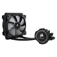 Corsair Hydro Series H75 Performance Liquid CPU Cooler, Slim 25mm radiator and dual PWM fans 120mm (x2), AMD: AM2, AM3, FM1, FM2, Intel LGA: 1150, 1155, 1156, 1366, 2011