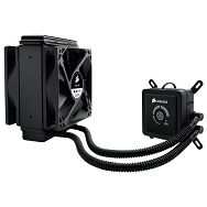 Corsair Hydro Series H80i, Intel™ LGA 1150, 1155, 1156, 1366, and 2011 + AMD sockets AM2, AM3 and FM1, dual 120mm fan + 120x120mm radiator