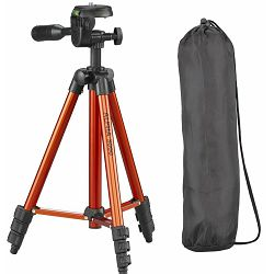 Cullmann Alpha 3000 Orange narančasti 106cm tripod tronožac stativ za fotoaparat s 3-Way Head glavom (52140)