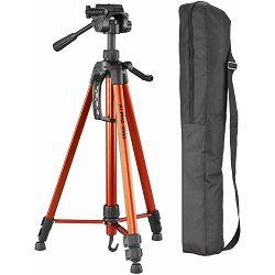 Cullmann Alpha 3500 Orange narančasti tripod tronožac stativ za fotoaparat s 3-Way Head glavom (52145)