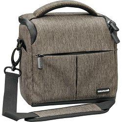 Cullmann Malaga Vario 400 Brown smeđa torba za DSLR fotoaparat i foto opremu 150x135x95mm 258g (90301)