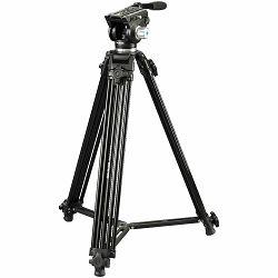 Cullmann Terra 460 184.5cm 10kg Aluminium tripod tronožac aluminijski video stativ s fluidnom glavom (56460)