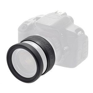 Discovered Easy Cover Lens Rims 72mm crni zaštitni gumeni prsten za objektive (ECLR72)