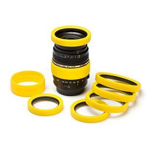 Discovered Easy Cover Lens Rims 72mm žuti zaštitni gumeni prsten za objektive (ECLR72Y)
