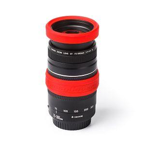 Discovered Easy Cover Lens Rims 77mm crveni zaštitni gumeni prsten za objektive (ECLR77R)
