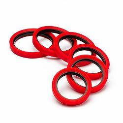 Discovered Easy Cover Lens rings in red crveni fleksibilni zaštitni prsten za objektiv (One flexible size) (EC2LRR)