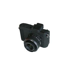 Discovered easyCover za Nikon 1 V1 Black + LCD folija crno gumeno zaštitno kućište camera case