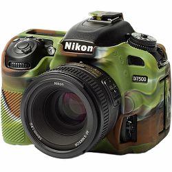 Discovered easyCover za Nikon D7500 Camouflage + LCD folija kamuflažno gumeno zaštitno kućište camera case (ECND7500C)