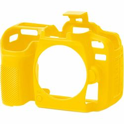 Discovered Easy Cover za Nikon D7500 yellow + 2x LCD folija žuto gumeno zaštitno kućište camera case (ECND7500Y)