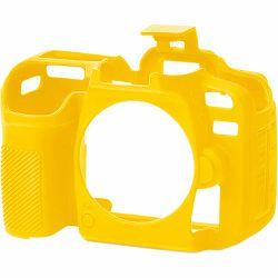 Discovered Easy Cover za Nikon D7500 yellow + 2x LCD folija žuto gumeno zaštitno kućište camera case (ECND7500Y)
