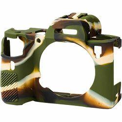 Discovered Easy Cover za Sony A9 i A7R III Camouflage + 2x LCD folija kamuflažno gumeno zaštitno kućište camera case (ECSA9B)