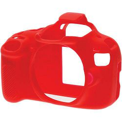 Discovered easyCover za Canon EOS 1200D crvena gumeno zaštitno kućište camera case (ECC1200DR)