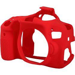 Discovered easyCover za Canon EOS 750D crvena boja Red gumeno zaštitno kućište (ECC750DR)
