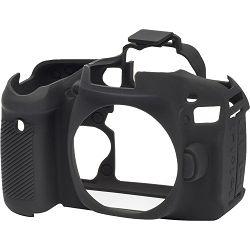 Discovered easyCover za Canon EOS 80D Black gumeno zaštitno kućište camera case (ECC80DB)