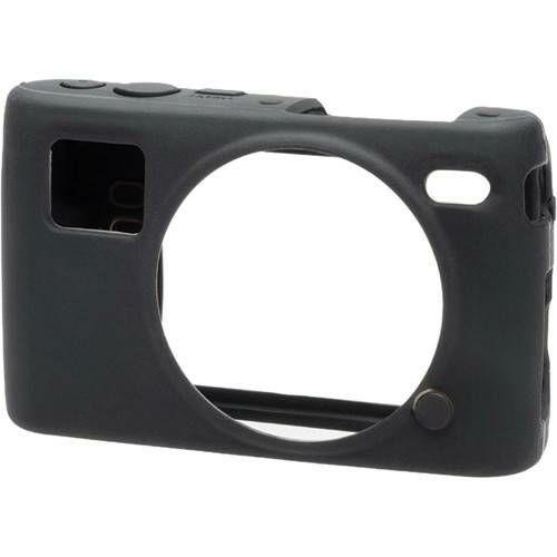 Discovered easyCover za Nikon 1 S2 Black crno gumeno zaštitno kućište camera case (ECNS2B)