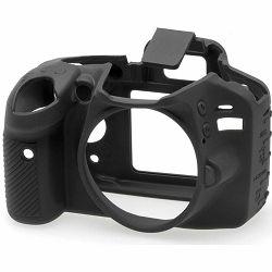 Discovered easyCover za Nikon D3200 Black crno gumeno zaštitno kućište camera case (ECND3200B)