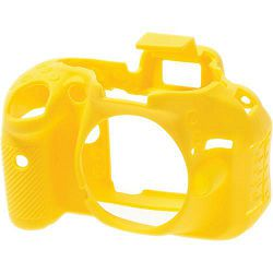 Discovered easyCover za Nikon D5200 žuta gumeno zaštitno kućište camera case (ECND5200Y)