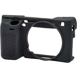 Discovered easyCover za Sony Alpha a6400, a6300, a6000 Black crno gumeno zaštitno kućište camera case (ECSA6300B)