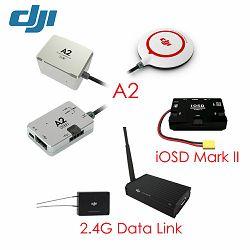 DJI A2 + iOSD Mark II + 2.4 G BT Data link Combo