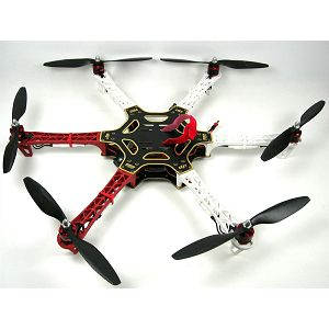 DJI Spreading Wings Frame wheel F550 ARF kit ( with motors, ESC, props ); DJI Spreading Wings F550