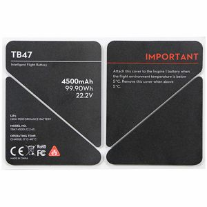 DJI Inspire 1 Spare Part 50 TB47 Battery Insulation Sticker