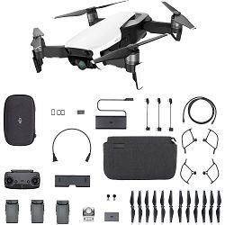 DJI Mavic Air Fly More Combo Arctic White Quadcopter dron za snimanje iz zraka s 4K UHD kamerom i 3-Axis 3D gimbal stabilizacijom