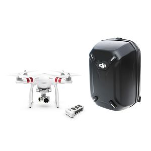 DJI Phantom 3 Standard quadcopter dron 2,7K kamera 3D gimbal + Extra Battery + Backpack Combo (DJI Logo)