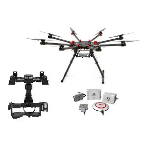 DJI Spreading Wings S1000+ & A2 & Z15 Zenmuse A7 Gimbal Combo Professional Aircraft multi-rotor Octocopter dron A2 Flight Controller Sony a7S / a7R Gyroscope