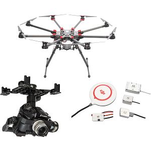 DJI Spreading Wings S1000+ & A2 & Z15 Zenmuse GH4 Gimbal Combo Professional Aircraft multi-rotor Octocopter dron A2 Flight Controller Panasonic GH3/GH4 Gyroscope
