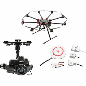 DJI Spreading Wings S1000+ & A2 & Z15 Zenmuse 5DIII Gimbal Combo Professional Aircraft multi-rotor Octocopter dron A2 Flight Controller Canon 5D III Gyroscope