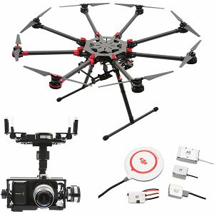 DJI Spreading Wings S1000+ & A2 & Z15 Zenmuse BMPCC ( Blackmagic Pocket Cinema Camera) Gimbal Combo Professional Aircraft multi-rotor Octocopter dron A2 Flight Controller Gyroscope