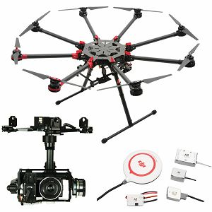 DJI Spreading Wings S1000+ & A2 & Z15 Zenmuse N7 Gimbal Combo Professional Aircraft multi-rotor Octocopter dron A2 Flight Controller Sony NEX-7 Gyroscope