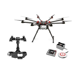DJI Spreading Wings S1000+ & WKM & Z15 Zenmuse 5DIII Gimbal Combo Professional Aircraft multi-rotor Octocopter dron WooKong-M Flight Control System Canon 5DIII Gyroscope