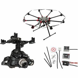 DJI Spreading Wings S1000+ & WKM & Z15 Zenmuse GH4 Gimbal Combo Professional Aircraft multi-rotor Octocopter dron WooKong-M Flight Control System Panasonic GH3/GH4 Gyroscope