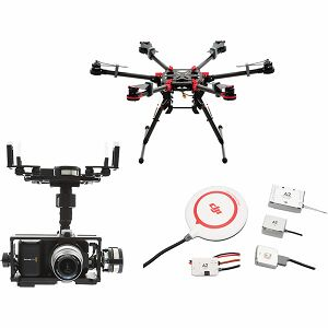 DJI Spreading Wings S900 + A2 Flight Controller + Zenmuse Z15 BMPCC (Blackmagic Pocket Cinema Camera) Gimbal Combo dron Professional Aircraft multi-rotor Hexacopter A2 Gyroscope