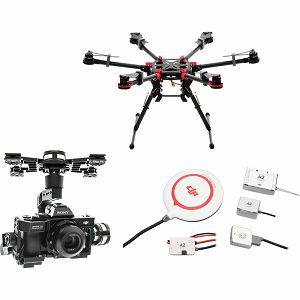 DJI Spreading Wings S900 + A2 Flight Controller + Zenmuse Z15 A7 Gimbal Combo dron Professional Aircraft multi-rotor Hexacopter A2 Zenmuse Sony a7S / a7R Gyroscope